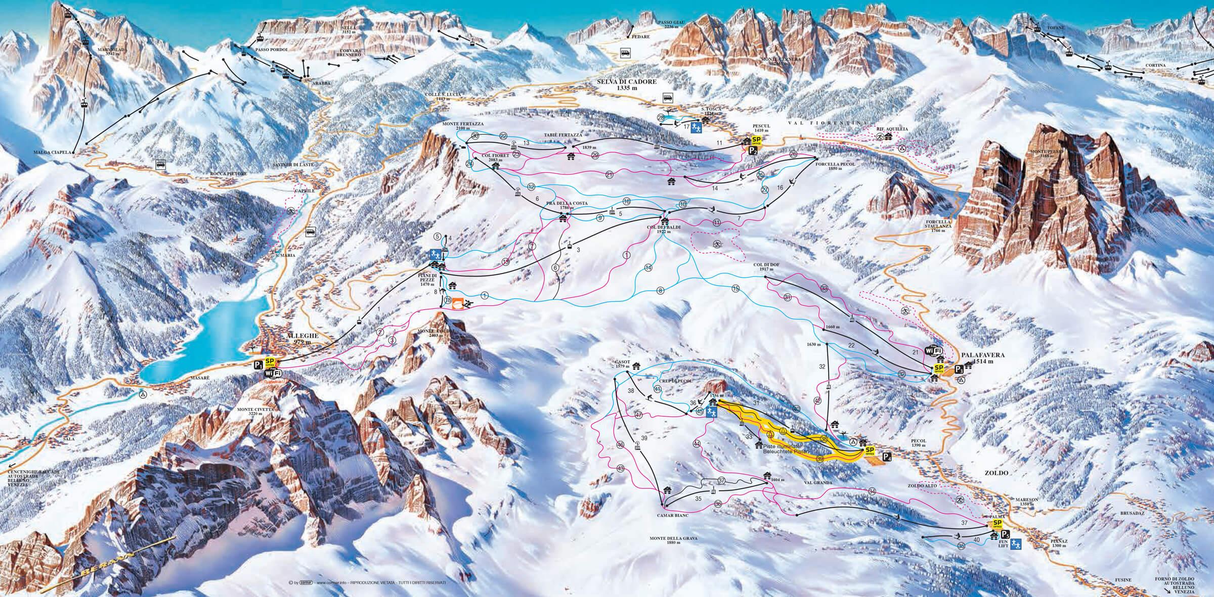 Sciare a Zoldo (Bl) Veneto 5282b2111068