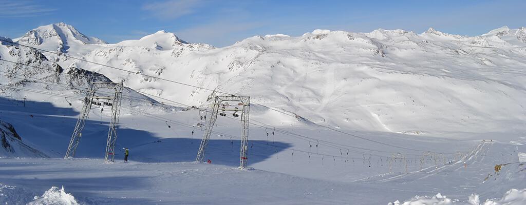 Dove sciare ad Ottobre in Italia e poco oltre confine